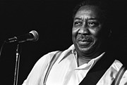 Muddy Prints - Muddy Waters Portrait Print by Sanely Great