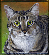 Tabby Art - Muffy by Cara Bevan