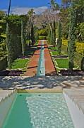 Mughal Garden Shangri La Print by David Davies