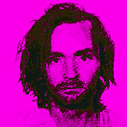 Bloody Digital Art - Mugshot Charles Manson m88 by Wingsdomain Art and Photography