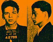 Alcatraz Prints - Mugshot Frank Sinatra v2p0 Print by Wingsdomain Art and Photography