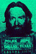 Willie Posters - Mugshot Willie Nelson p28 Poster by Wingsdomain Art and Photography