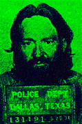 Willie Nelson Posters - Mugshot Willie Nelson p88 Poster by Wingsdomain Art and Photography