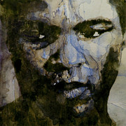 Photo  Paintings - Muhammad Ali  A Change Is Gonna Come by Paul Lovering