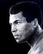 Clay Drawings - Muhammad Ali formerly known as Cassius Clay III by Jim Fitzpatrick