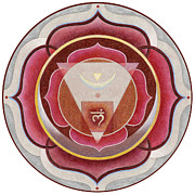 Muladhara Framed Prints - Muladhara Chakra Framed Print by Arlene Eve Johnson