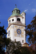 Collectible Photos - Mullersches Volksbad Munich Germany - A 19th century SPA by Christine Till