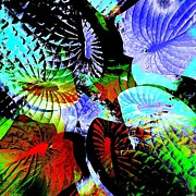 Stephanie Aarons Art - Multi Hosta by Stephanie Aarons