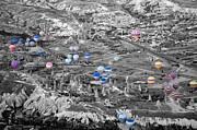 Multiple Balloons Print by Ernesto Cinquepalmi