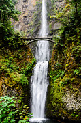 Oregon State Art - Multnomah Falls Oregon Waterfalls by Puget  Exposure