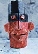 Primitive Art Sculpture Prints - MUM no.13 Bandido No. 2 Print by Mark M  Mellon