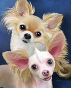 Munchie And Tuffy Print by Catia Cho
