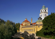 Onion Dome Prints - Munich - Muellersches Volksbad - Au-Haidhausen Print by Christine Till