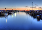 Munising Prints - Munising Harbor at Sunrise Print by Twenty Two North Photography