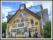 Mural In Beaupre Quebec Print by Lingfai Leung