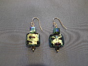 Featured Jewelry - Murano glass earrings by Jan Durand