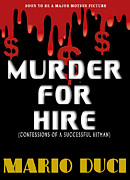 Book Jacket Design Art - Murder For Hire book cover by Mike Nellums
