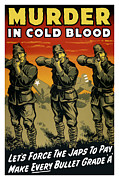 Murder In Cold Blood Print by War Is Hell Store