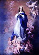 Robert G Kernodle - Murillo Vintage Mary