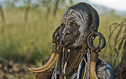 Sandy Schepis - Mursi Woman in Tribal...
