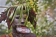Sandy Schepis - Mursi Woman with Lip...