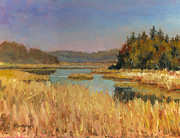 Richard De Wolfe Prints - Murvale Creek Print by Richard De Wolfe
