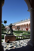 Bronce Metal Prints - Museums Garden View  Metal Print by Christiane Schulze