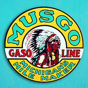 Braids Prints - Musgo Gasoline Print by Ron Regalado
