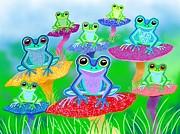 Nick Gustafson - Mushroom Valley Frogs