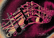 Boats Digital Art Prints - Music Capitol A 3 Print by Mark Ansier