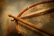 Civil War Photos - Music - Drum - Cadence  by Mike Savad