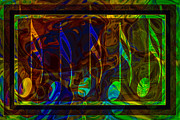 Witkowski Prints - Music is Magical Abstract Healing Art Print by Omaste Witkowski