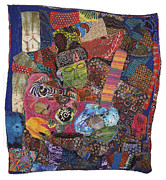 Closed Tapestries - Textiles - Music Man by Gwendolyn Aqui-Brooks
