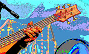Bass Bridge Prints - Music Out of Metal VI Print by C H Apperson