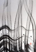 Taikan Nishimoto Prints - Music Played On The Harp Print by Taikan Nishimoto