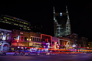 Nashville Tennessee Framed Prints - Music Row Nashville TN Framed Print by John McGraw