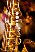 Mardi Gras Prints - Music - Sax - Sweet jazz  Print by Mike Savad