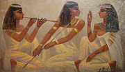 Archeology Paintings - Music by Valentina Kondrashova