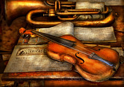 Orchestra Art - Music - Violin - Played its last song  by Mike Savad