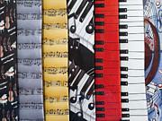 Musical Motifs Print by Ann Horn