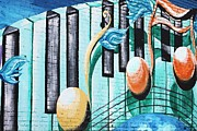 Musical Notes In Deep Ellum Print by Lorri Crossno