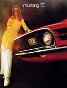 8 Track Player Posters - Mustang 70 Poster by Digital Repro Depot