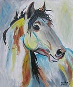 Veronica Silliman - Mustang Abstract