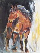 Veronica Silliman - Mustang Colt Abstract