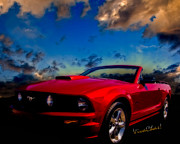 Dream Team Prints - Mustang Dream Print by Chas Sinklier