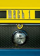 Mustang Mach 1 Emblem 2 Print by Jill Reger