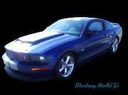 Fast Paintings - Mustang Shelby GT by Scott B Bennett