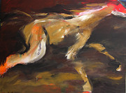 Light Horse Painting Originals - Mustang by Valerie Freeman