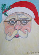 Santa Claus Paintings - Mwa by Gordon Wendling