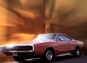 Also Digital Art - My 70 Charger 440 Six Pack by Thomas Woolworth